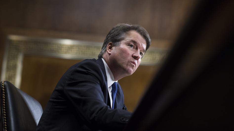 Brett Kavanaugh, the embattled supreme court nominee…